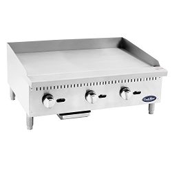 CookRite Heavy Duty Manual Griddle Commercial Liquid Propane 36″ Countertop
