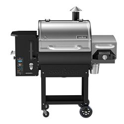 Camp Chef Woodwind SG Wood Pellet Smoker and Over-Fire Grill with Sear Box (PG24SGWWS1) –  ...