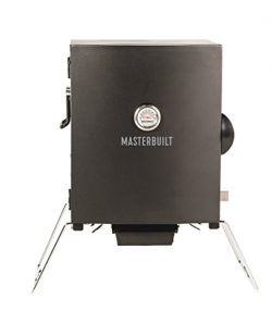 Masterbuilt MB20073716 Portable Electric Smoker, Black