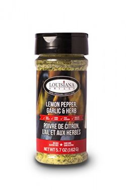 Louisiana Grills 50516 Garlic Lemon Pepper Rub