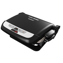 George Foreman GRP4842MB Multi-Plate Evolve Grill, (Ceramic Grilling Plates, and Waffle Plates I ...