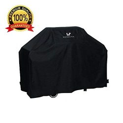 Wenscha BBQ Grill Cover (57 Inch) Waterproof Durable Barbecue Gas Cover UV Resistant Material Po ...