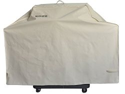 58″ Heavy Duty Waterproof Gas grill cover fits Weber Char-Broil Coleman Gas Grill-Beige …