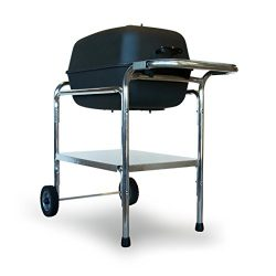 PK Grill PKO-GCAS-X X Original Grill and Smoker Stainless Steel Cooking Surface, Graphite