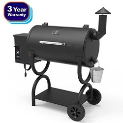 Z GRILLS Wood Pellet Grill & Smoker 2018 New Model Barbecue Grill with Electric Digital Cont ...
