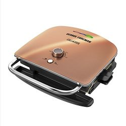 George Foreman Grill & Broil, 6-in-1 Electric Indoor Grill, Broiler, Panini Press, and Top M ...