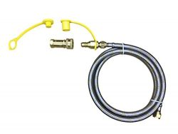 Great Deal Supply LLC 16ft Natural Propane Gas 3/8″ Quick Connect Disconnect Applaince Gri ...