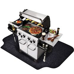 "Gas Grill Mat (36"" x 72""), Grilling Gear for Gas/Electric Grill – Absorbent Waterpro ..."