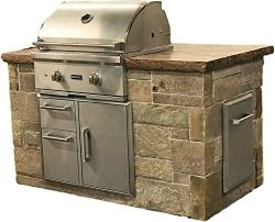 Outdoor Grill Island kit