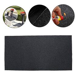 Uterstyle BBQ Gas Grill Splatter Mat, Extra Large Fireproof Heat Resistant Gas or Electric Grill ...