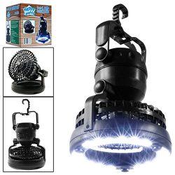 AOKARLIA BBQ Light/Fans Lights Camping Night Lamp/18 LEDS Super Bright Grill Light/Multi-Functio ...
