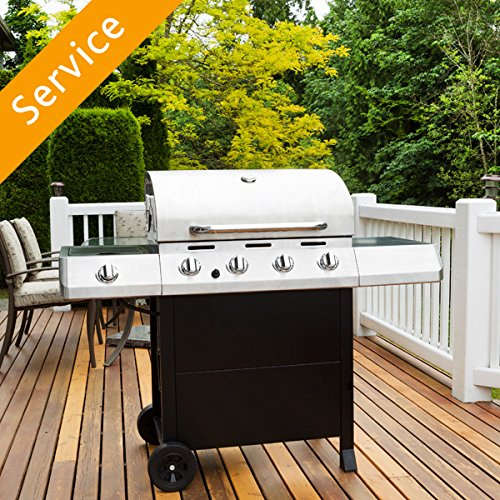 Grill Assembly – 4 or 5 burners