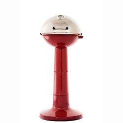 Masterbuilt Verdana Outdoor Patio 18 Inch 1650W Electric Pedestal Grill, Red
