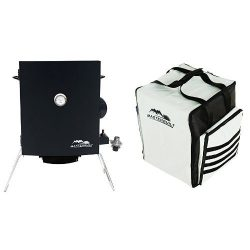 Masterbuilt 20050116 Portable Gas Smoker + Carrying Bag