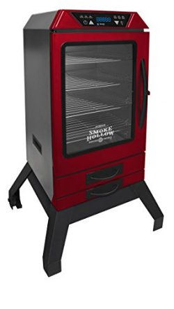 Smoke Hollow D4015RS 40-Inch Digital Electric Smoker with Smoke-Tronix Bluetooth Technology, Sta ...