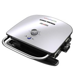 George Foreman GBR5750SSQ Broil 7-in-1 Electric Indoor Grill, Broiler, Panini Press, and Waffle  ...