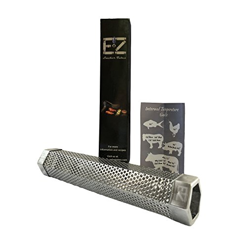 12″ EZ Smoker Tubes Hexagonal Pellet Smoker Tube- Must have grilling accessory. Included w ...