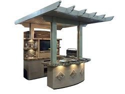 St Croix BBQ Island Outdoor Kitchen – LP
