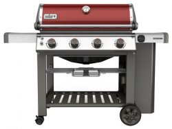 Weber 62030001 Genesis II E-410 Liquid Propane Grill, Crimson