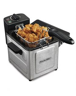 Proctor Silex (35041) Deep Fryer, With Basket, 1.5 Liter Oil Capacity, Electric, Professional Gr ...
