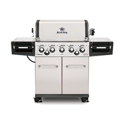 Broil King 958347 Regal S590 Pro – Stainless Steel – 5 Burner Natural Gas Grill