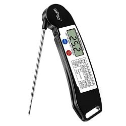 aiPao Digital Instant Read Meat Thermometer – Grill Thermometer Super Fast Electric Collap ...