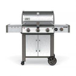 Weber 66014001 Genesis II LX E-340 Natural Gas Grill, Black