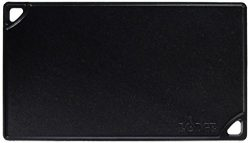 Lodge Reversible Grill and Griddle Combo. Double-Sided Cast Iron Pan with Smooth Side and Ribbed ...