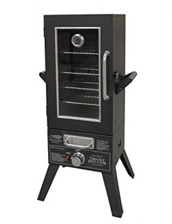 Smoke Hollow SH36GW Gas Smoker with Window, 36″, Black