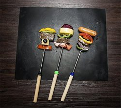 Heyuni.1PC BBQ Grill Mat, Non-Stick and Heat Resistant Mats for Charcoal, Electric and Gas Grill