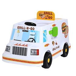 Rollplay Grill N' Go Food Truck 6 Volt Ride-On Vehicle