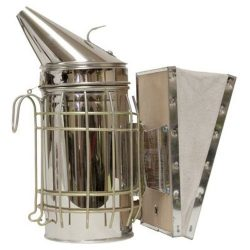 HARVEST LANE HONEY Standard Smoker, For The Backyard Beekeeper, Made with Leather Bellows