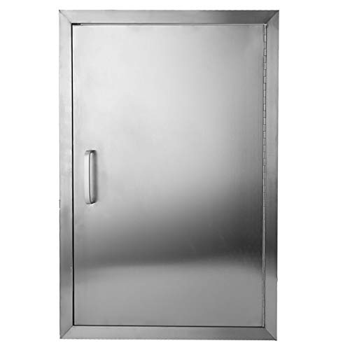Belovedkai BBQ Access Door, 17″ Wx24 H, Vertical/Single Double Wall Construction Stainless ...