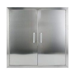 Belovedkai BBQ Access Door, 24″ Wx24 H, Vertical/Single Double Wall Construction Stainless ...