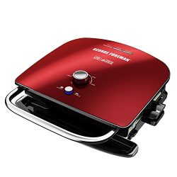 George Foreman GBR5750SRDQ Broil 7-in-1 Electric Indoor Grill, Broiler, Panini Press, and Waffle ...