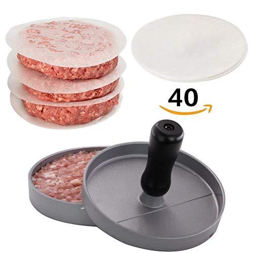Imagedo Non-Stick Burger Press Aluminum Hamburger Patty Maker with for BBQ,Essential Kitchen &am ...