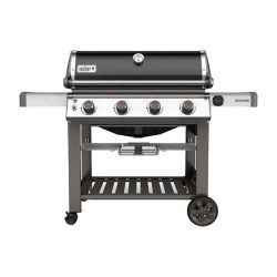 Weber-Stephen Products 67010201 Genesis II Black Natural Gas Grill