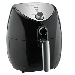 PRYTA Air Fryer, 6 in 1 Electric Hot Oil Less, Comes with 50 Recipes, Dishwasher Safe, Timer and ...