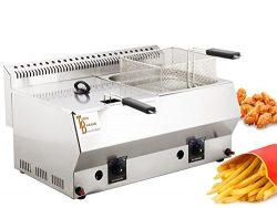 Deep Fryer 16 LT – TB-Industrial Propane – LPG Deep Fryer. CE Certificate (16 LT) Tu ...