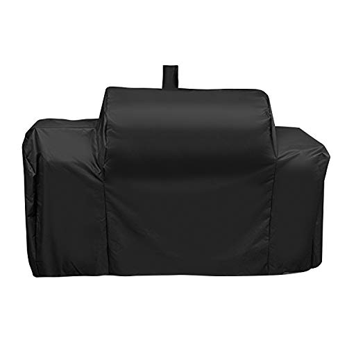 UNICOOK Heavy Duty Waterproof Grill Cover for Oklahoma Joe's Longhorn Combo Smoker, Outdoo ...