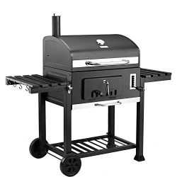 Royal Gourmet CD2030 Charcoal Grill Large 30″, Outdoor Barbeque, Backyard Cooking, Black