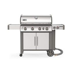 Weber Stephen Company 67006001 Genesis II S-435 NG Grill, Stainless Steel