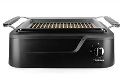 Tenergy Redigrill Smokeless Infrared Grill, Indoor Grill, Heating Electric Tabletop Grill, Non-S ...