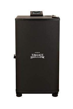 Smoke Hollow SH19079518 Electric Smoker, Exterior: 17.8 16.3 19.3 in. L Interior:13.8 in. H x 12 ...