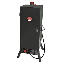 Landmann USA 3495GW Smoky Mountain Vertical Gas Smoker, 34-inch