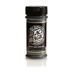 Charcoal Seasoning Dry BBQ Rub (5 oz.) Black Magic Charcoal Grill Seasoning Best for Briskets, B ...
