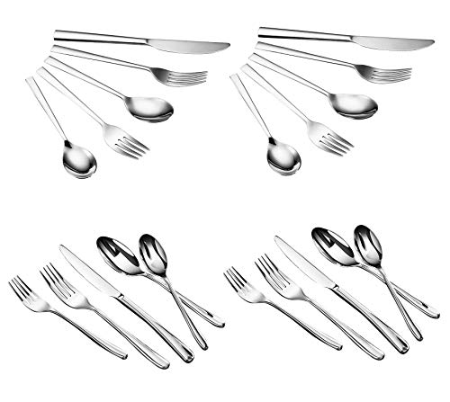 Comfy Mee Barbecue Grill Utensils BBQ Grill Tools Set-18 Piece Stainless Steel BBQ Accessories i ...