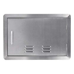 Seeutek Outdoor Kitchen Door BBQ Access Door with Vents 20 inch Width x 14 inch Height – S ...