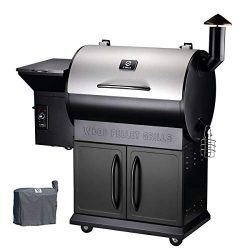 Z GRILLS Pellet Grill Outdoor BBQ Smoker 2019 New Model Heavy Duty Stainless Steel Lid, 700 sq i ...