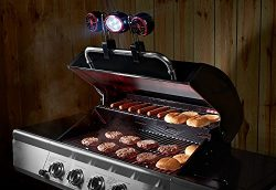 Sharper Image BBQ Grill Light and Fan